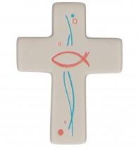 FeinbetonMagnet-Kreuz - Gott segne und behüte dich