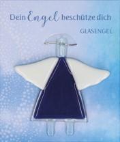 Engel-Glasanhänger Dein Engel beschütze dich