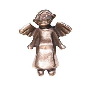 Engelchen aus Bronze, sitzend