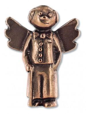 Schutzengel Lieber Opa, aus Bronze