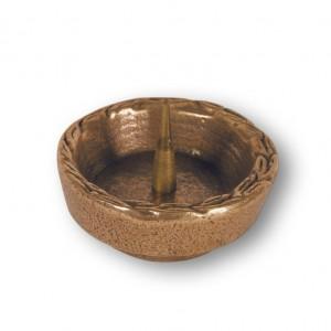 Schmuckleuchter aus Bronze
