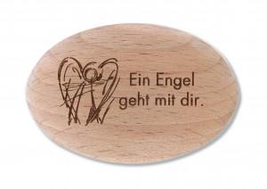 Holzhandschmeichler Ein Engel geht mit dir