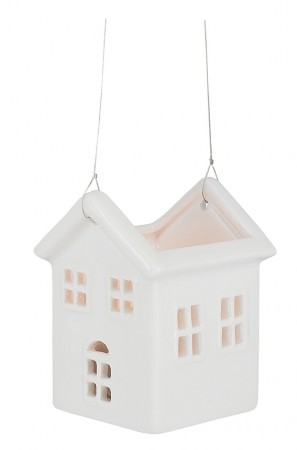 Porzellan-Figur Haus