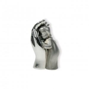 Mini-Skulptur - Hand mit Kind