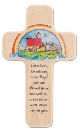 Kinderholzkreuz Arche Noah