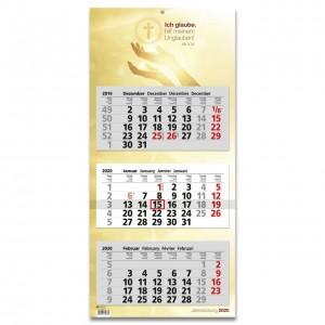 3-Monats-Kalender 2020 - Jahreslosung 2020
