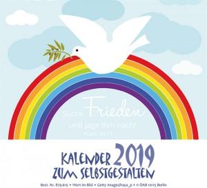 Kalender 2019 zum Selbstgestalten