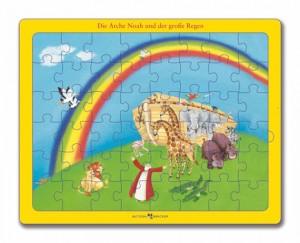 Die Arche Noah und der große Regen - Bibel-Puzzle