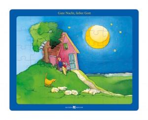 Puzzle: Gute Nacht, lieber Gott - Bibel-Puzzle