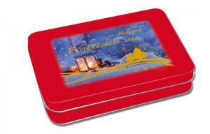 Bald wird Weihnachten sein - 24 Adventskalender-Karten