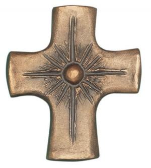 Bronzekreuz 8 x 7 cm