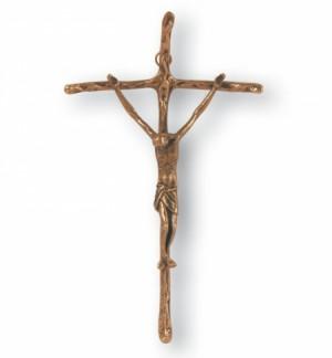 Bronzekreuz - Papstkreuz Größe 36 cm
