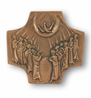 Firmkreuz Bronze
