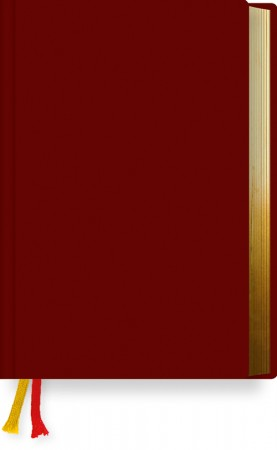 Gotteslob Standard Kunstleder dunkelrot mit Goldschnitt - Bistum Rottenburg-Stuttgart