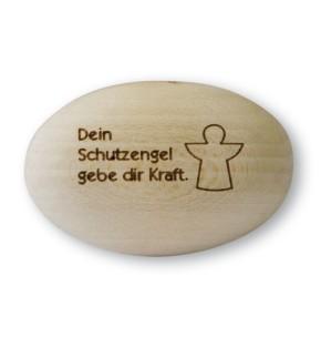 Handschmeichler Schutzengel Holz - Kraft