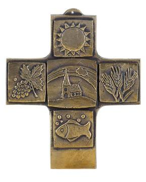 Erstkommunion - Bronzekreuz