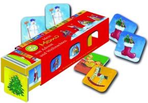 Kartenlegespiel: Mein Memo von Advent und Weihnachten - Kartenlegespiel mit 36 Bildpaaren