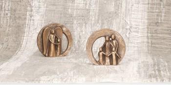 Bronzefigur Dein Schutzengel