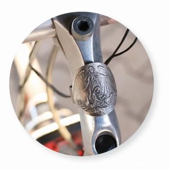 Fahrradplakette Schutzengel