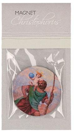 Acrylglas-Magnet Christophorus