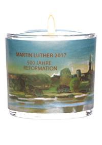Glaswindlicht Martin Luther