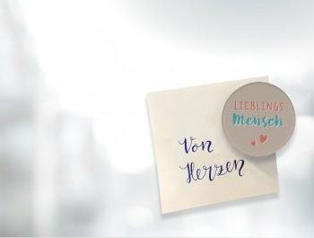 FeinbetonMagnet-Herz - Ich bin dein Schutzengel