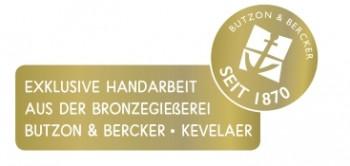 Bronze-Handschmeichler - Schutzengel
