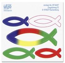 Aufkleber-Set - Fische
