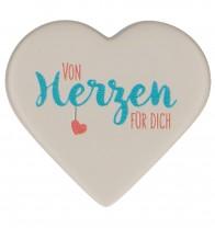 FeinbetonMagnet-Herz Von Herzen für dich