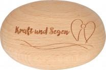 Holzhandschmeichler Kraft und Segen