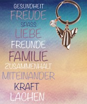 Engel-Schlüsselanhänger - Gesundheit, Freude, Spass...