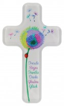Acrylglas-Kinderkreuz Pusteblume