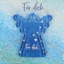 Engel-Glashandschmeichler - Für dich