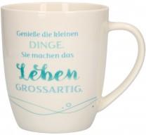 Porzellan-Tasse Genieße