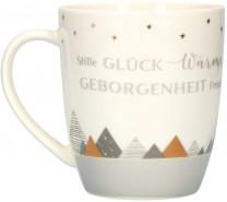 """""""Winterzeit"""" - Tasse aus Porzellan"""