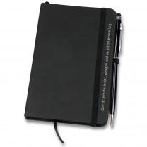 Geschenk-Set - Notizbuch und Kugelschreiber mit Touch-Pin
