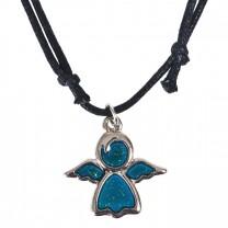 Halskette mit Engel Anhänger
