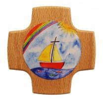 Kreuz Regenbogen / Schiff
