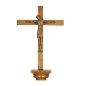 Kreuz mit Bronzecorpus
