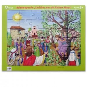 Rahmenpuzzle - Zachäus war ein kleiner Mann