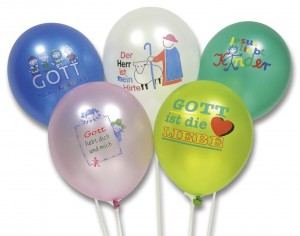 Luftballons 25 Stück im Set