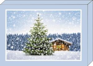 Grußkarten-Geschenkbox Weihnachten