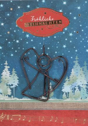 Glückwunschkarte Fröhliche Weihnachten