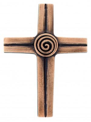 Symbolkreuz Spirale