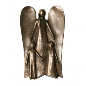 Schutzengel mit zwei Kindern