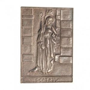 Bronzerelief Gertrud