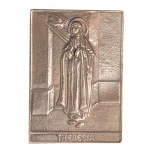 Bronzerelief Theresia
