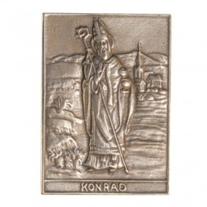 Bronzerelief Konrad