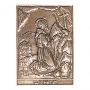 Bronzerelief Wilhelm