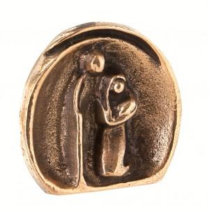 Bronzefigur Krippe